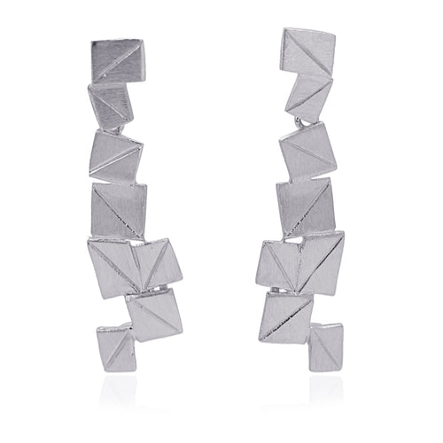 Ice Earrings Squares
