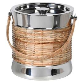 Cane Ice Bucket and Lid