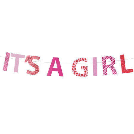 It's A Girl Garland