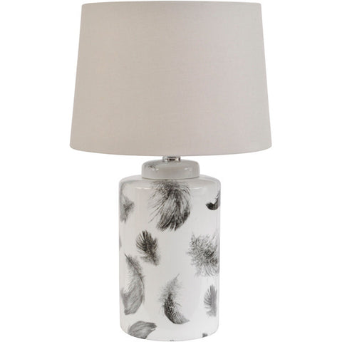 John Piper Floating Feathers Lamp with Shade