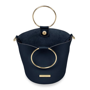 Suki Bucket Bag Navy