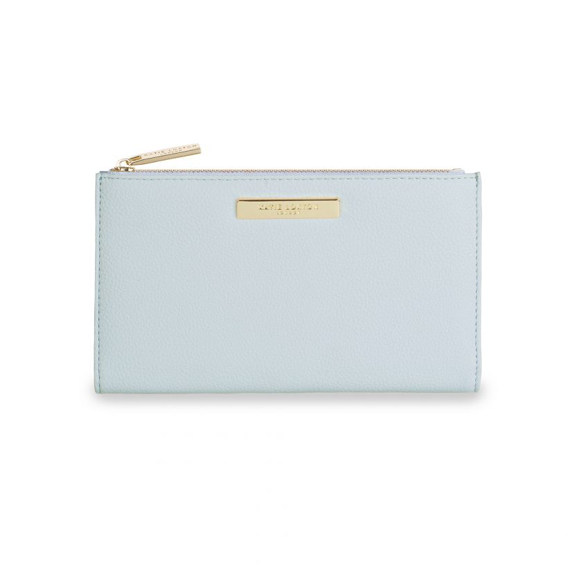 Alise Fold Out Purse Pale Blue