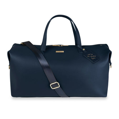 Weekend Holdall Bag Navy