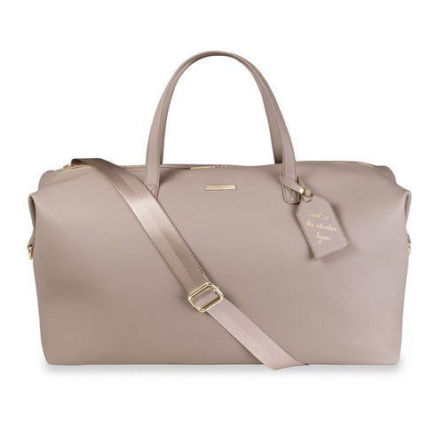 Weekend Holdall Bag Taupe