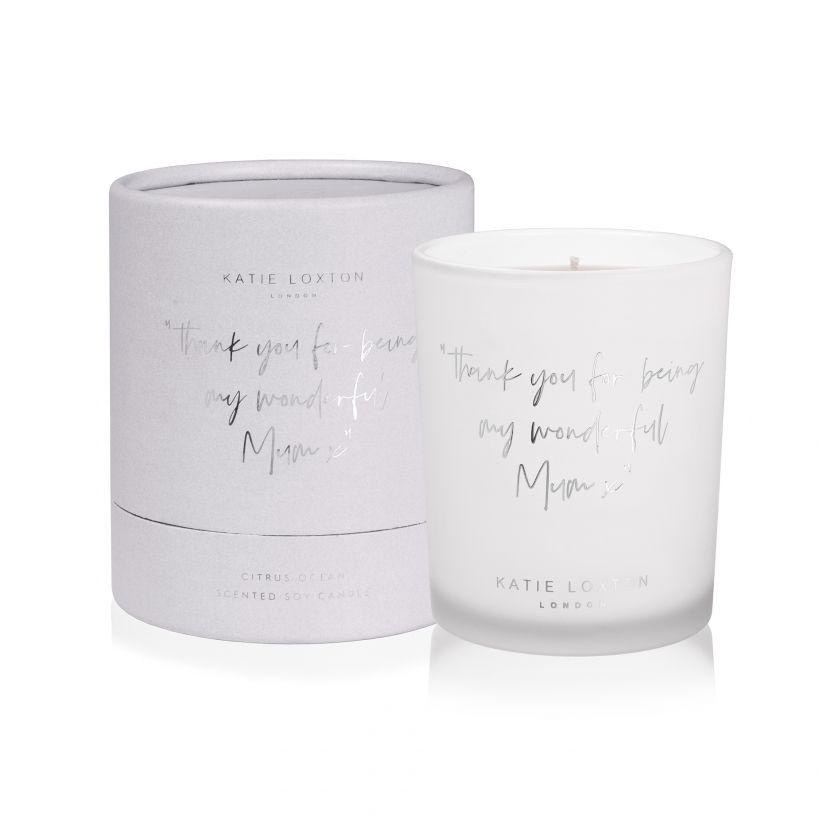 Thank you for being my wonderful Mum Candle