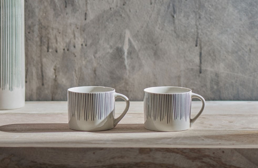 Linear Mug Set of 2