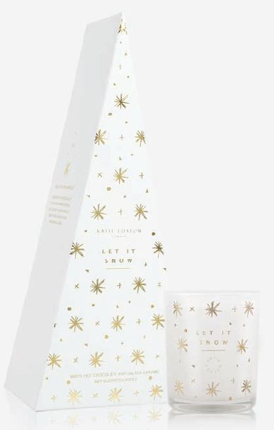 Let It Snow Festive Candle