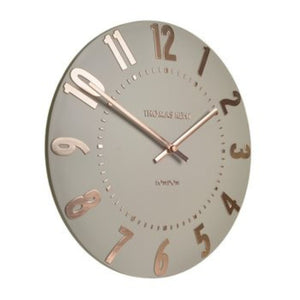 Mulberry Clock Rose Gold 20""