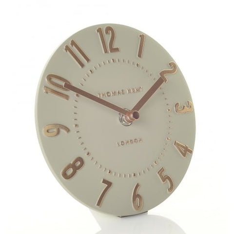 Mulberry Mantel Clock Rose Gold