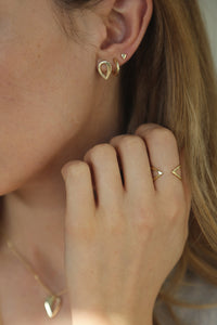 Purify Earrings Gold