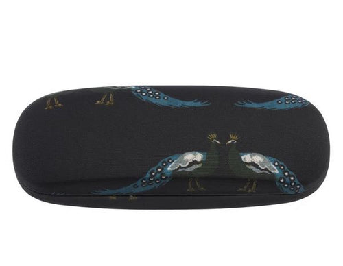 Peacocks Glasses Case