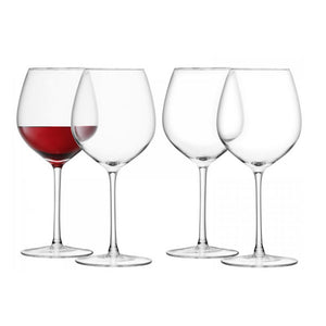 Red Wine Glass x 4
