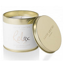 Relax - Soft Cotton and Jasmine Tin Candle