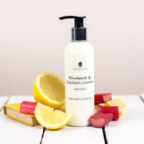 Rhubarb and Sicilian Lemon Hand Cream
