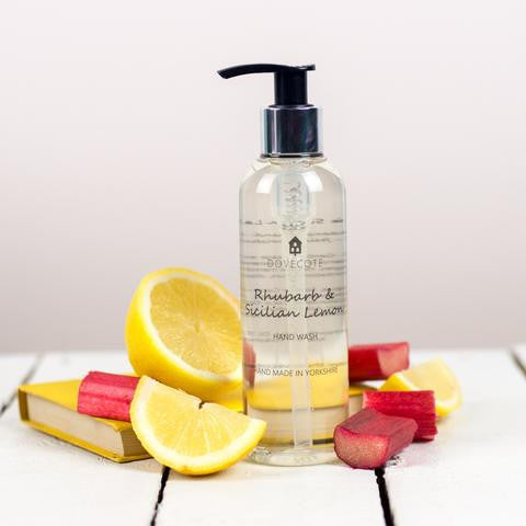 Rhubarb and Sicilian Lemon Hand Wash