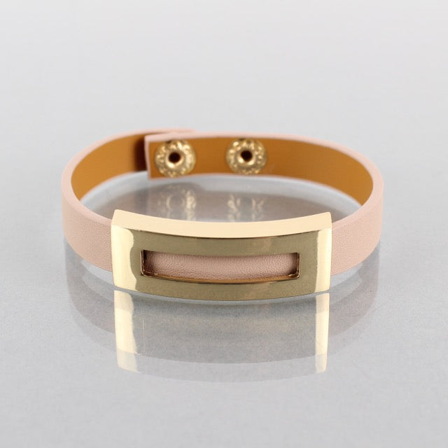 Roisin Bracelet Light Pink/Gold