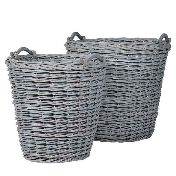 Round Willow Baskets