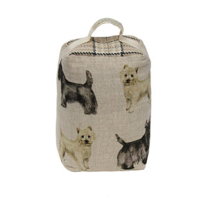 Scottie & Westie Door Stop