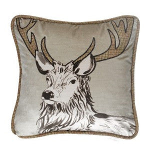 Sebastian Stag Cushion