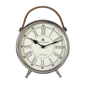 Leather Handle Alarm Clock