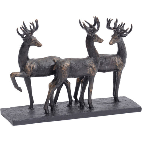 Stag Trio Sculpture