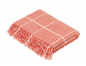 Prince of Wales Coral Throw