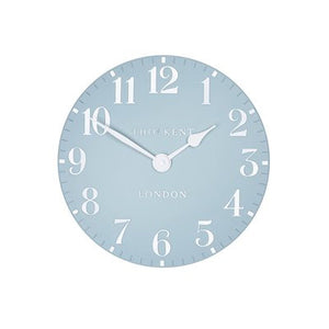 Arabic Stonewash Blue Wall Clock 12'' - Front View