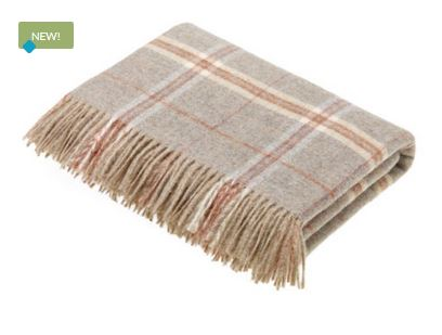 Sandstone WIndowpane Throw