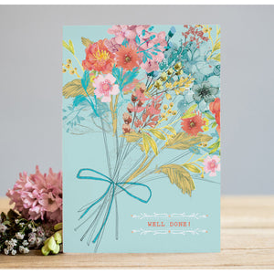 Well Done Floral Card