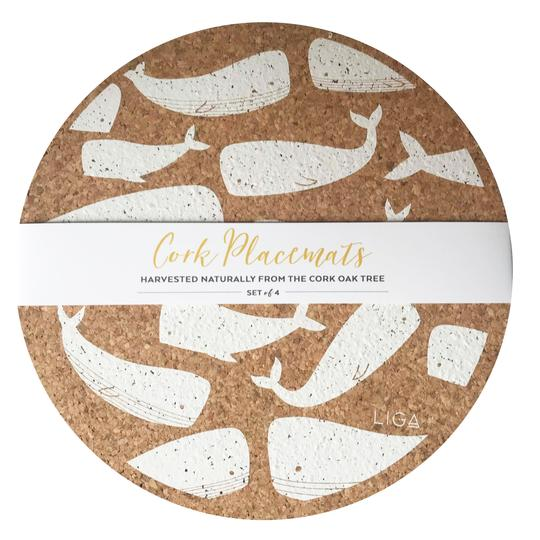 Cork Whales Placemat