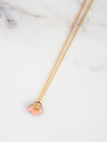 Wildflower Necklace Pink Blush