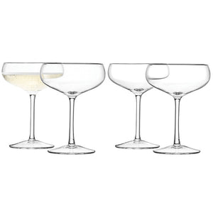 Wine by LSA International Champagne Saucer x 4