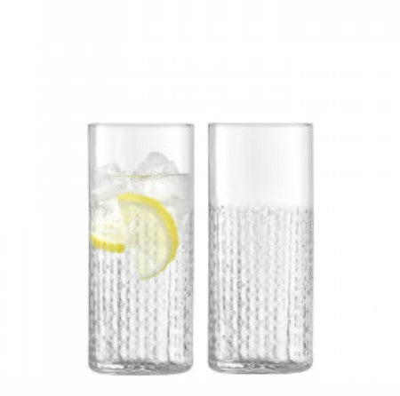 Clear Wicker Highball