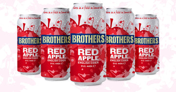 Brothers New Red Apple Cider!
