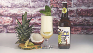 Coconut, Lime & Pineapple Cooler
