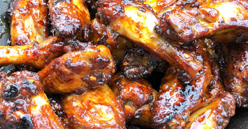 Firecracker Toffee Apple Chicken Wings