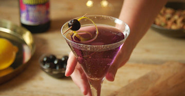Parma Violet Purple Rain Cocktail
