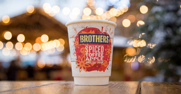 Spiced Toffee Apple - at a winter market near you!
