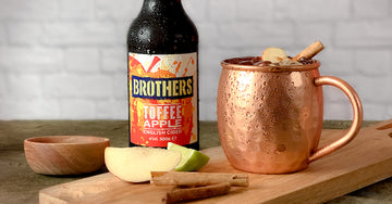 Toffee Apple Moscow Mule cocktail