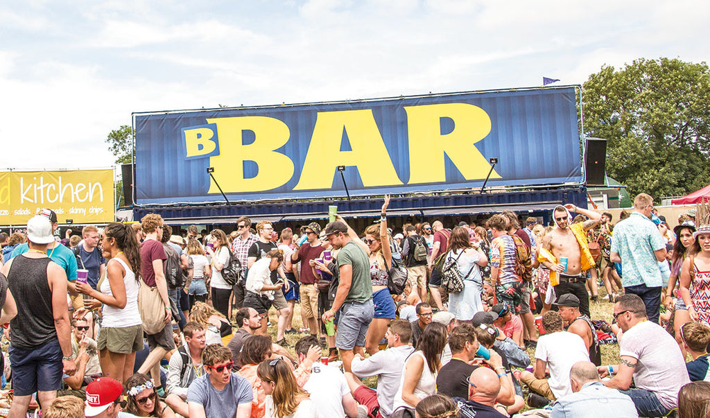 B-Bar West Holts Stage at Glastonbury Festival - Brothers Bar