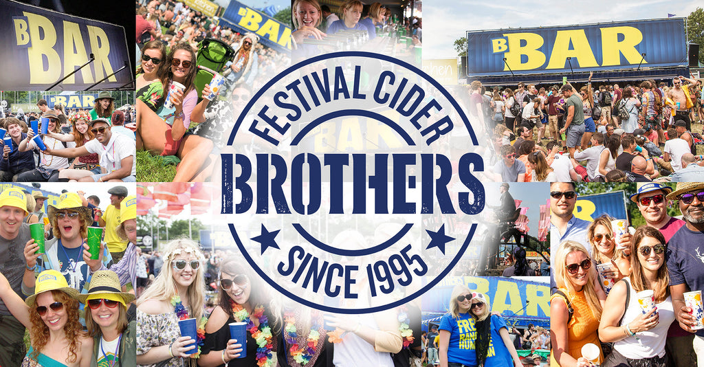 Brothers Cider - Festival Cider since 1995 - 25th Anniversary