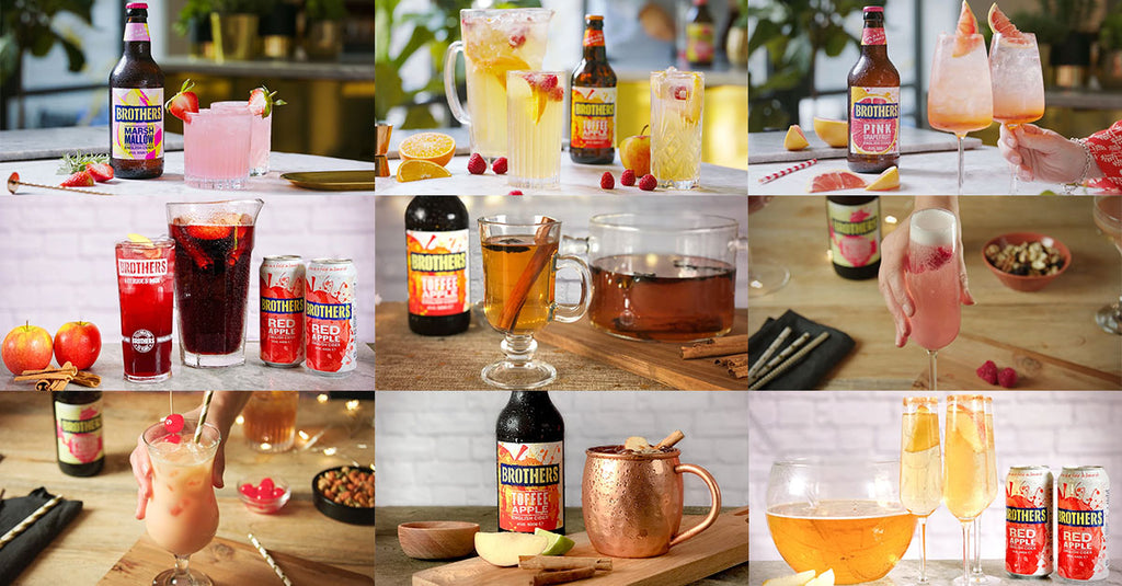 Brothers delicious range of cider cocktail recipes