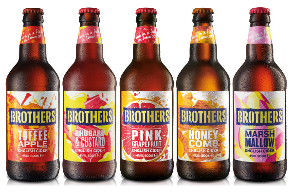 Brothers Cider - A range of curious flavours - Fruit Cider