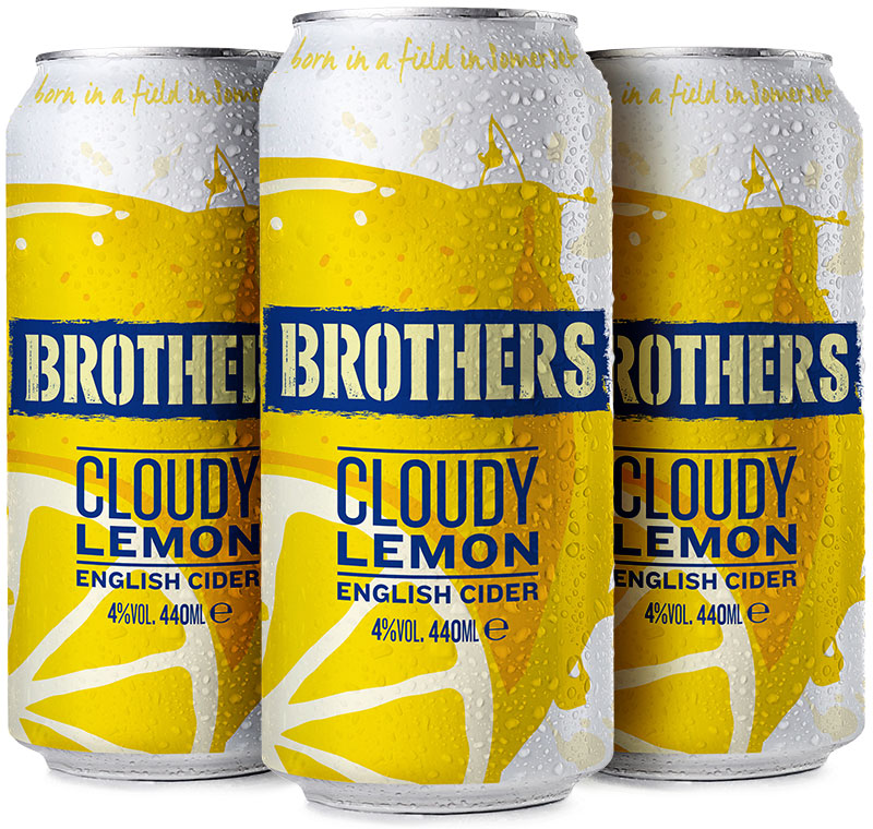 Brothers Cloudy Lemon Cider