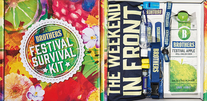 Win a Brothers Festival Survival Kit