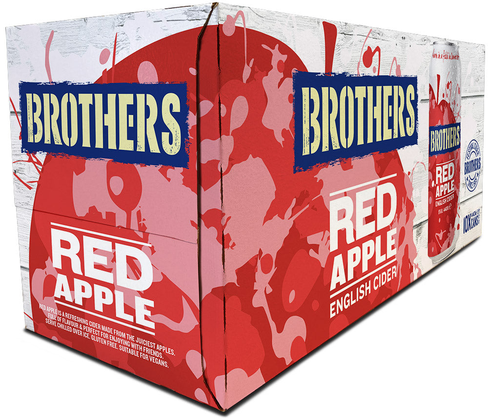 Brothers Red Apple cider multipack
