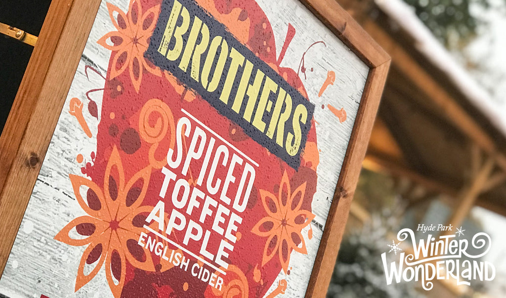 Brothers Spiced Toffee Apple cider