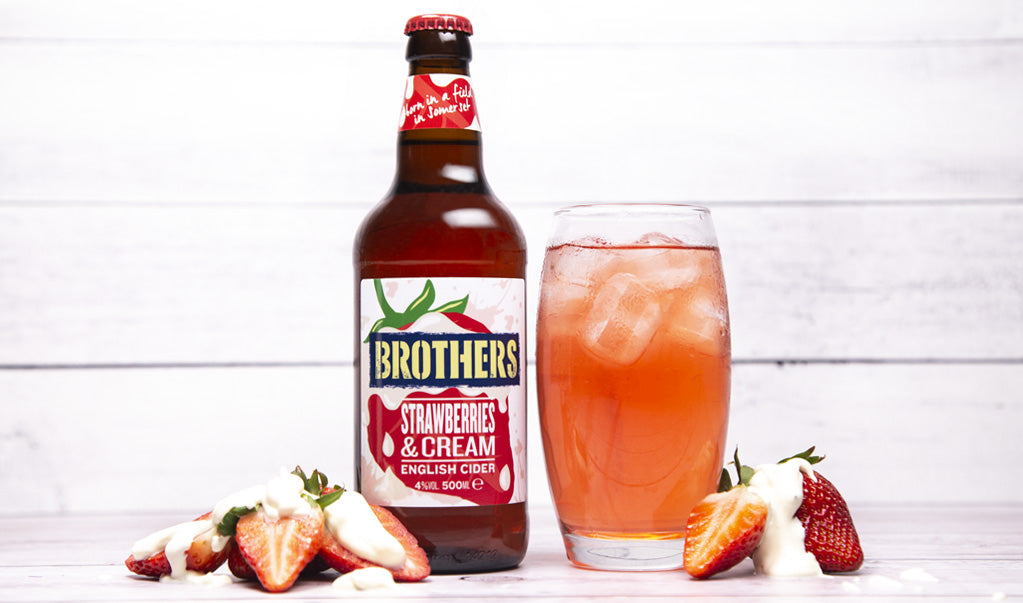 Brothers Strawberry & Cream Cider