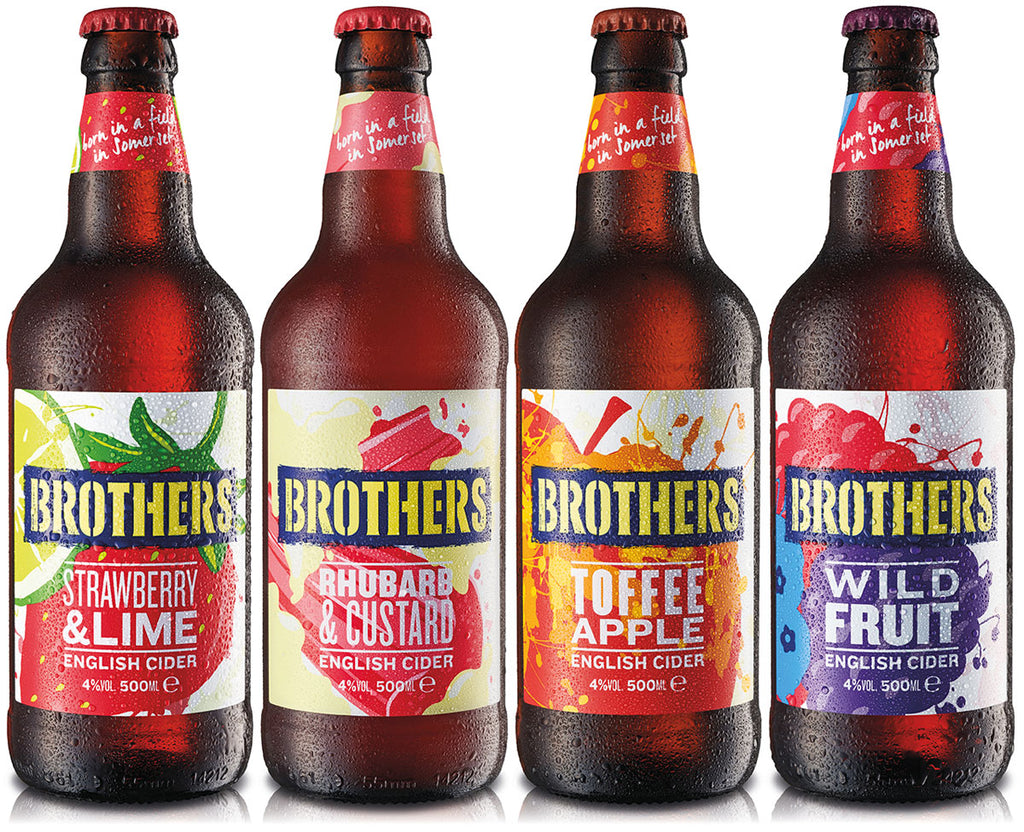 Brothers cider fresh new look lineup