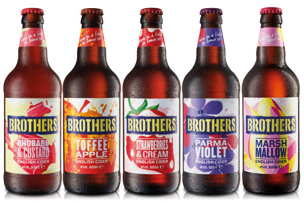 Brothers Cider - A curious mix of flavours